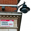 Covent Garden Sign — Stock Photo #26198637
