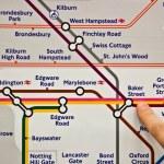Baker Street Tube station — Stock Photo