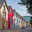 Cobh houses - Stock Photo