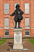 Statue of King William III — Stock Photo