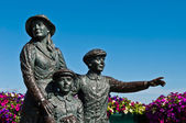 The Annie Moore Memorial — Stock Photo