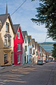 Cobh houses — Stock Photo