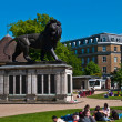 Summer at Forbury Gardens — Stock Photo
