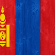 Mongolia flag — Stock Photo