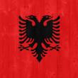 Albania flag — Stock Photo #31379251