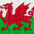 Stock Photo: Wales flag