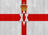 Northern Ireland flag — Stock Photo