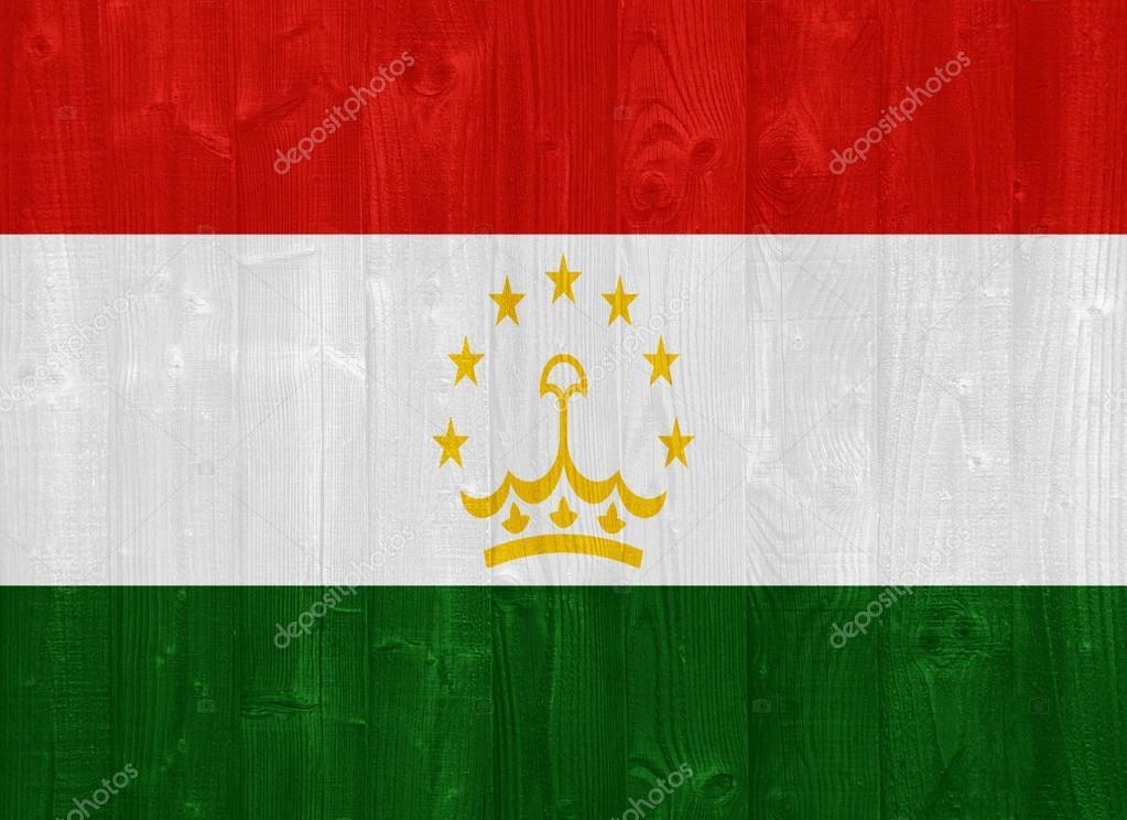 塔吉克斯坦国旗 — 图库照片08luissantos84