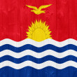 Kiribati flag — Foto Stock