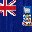 The Falkland Islands flag — 图库照片