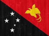 Papua New Guinea flag — Stock Photo