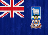 The Falkland Islands flag — Stock Photo
