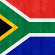 South Africa flag — Stock fotografie