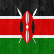Kenya flag — Foto de Stock