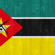 Mozambique flag — Stock Photo