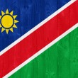 Namibia flag — Stockfoto