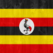 Ugandflag — Stock Photo #32846589