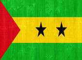 Sao Tome and Principe flag — Stock Photo