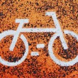 Bicycle sign — Stock Photo #35119811