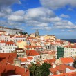 Rooftops of Alfama, Lisbon, Portugal — Stock Photo
