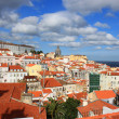 Stock Photo: Rooftops of Alfama, Lisbon, Portugal