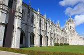 Jeronimos monastery in Belem, Portugal — Stock Photo