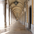 Arches in Praca do Comercio — Stock Photo #24126819