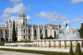 The Mosteiro dos Jeronimos — Stock Photo