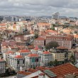 Stock Photo: Cityscape of Lisbon, Portugal buildings