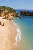Dona ana stranden, lagos, portugal — Stockfoto