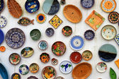 Colorful plates — Stock Photo