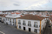 Colorful houses of Evora, Portugal — Stock Photo