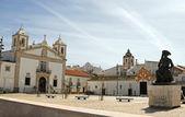 Public square in Faro, Portugal — Stock Photo