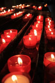 Prayer candles — Stockfoto