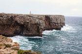 Rocky Algarve, Portugal coastline — Stock Photo