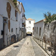 Arched entraceway in Lagos, Algarve, Portugal - Stock Photo
