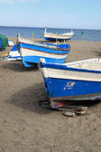 Fishing boats in Torremolinos, Spain — Stock Photo