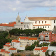 Cityscape of Lisbon, Portugal buildings — Stock Photo