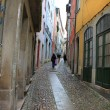 Foto Stock: Uphill on Coimbrstreet