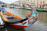 Aveiro fishing boats — Stock Photo