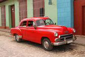 Cuban taxi — Stock Photo