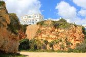 House in Algarve, Praia da rocha — Stock Photo