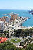 Port in Malaga, Spain — Stock Photo