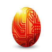 Egg connected — Stockvector