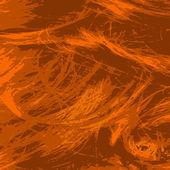 Grunge hair background — Stock Vector