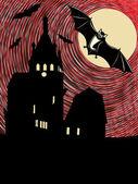 Illustrazione concettuale di halloween — Vettoriale Stock