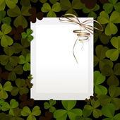 Invitation for St. Patrick's Day — Stock Vector