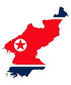 North korea — Stock Vector