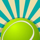 Tennis ball icon design — Stock Vector