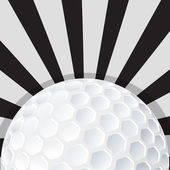 Golf ball icon design — Stock Vector